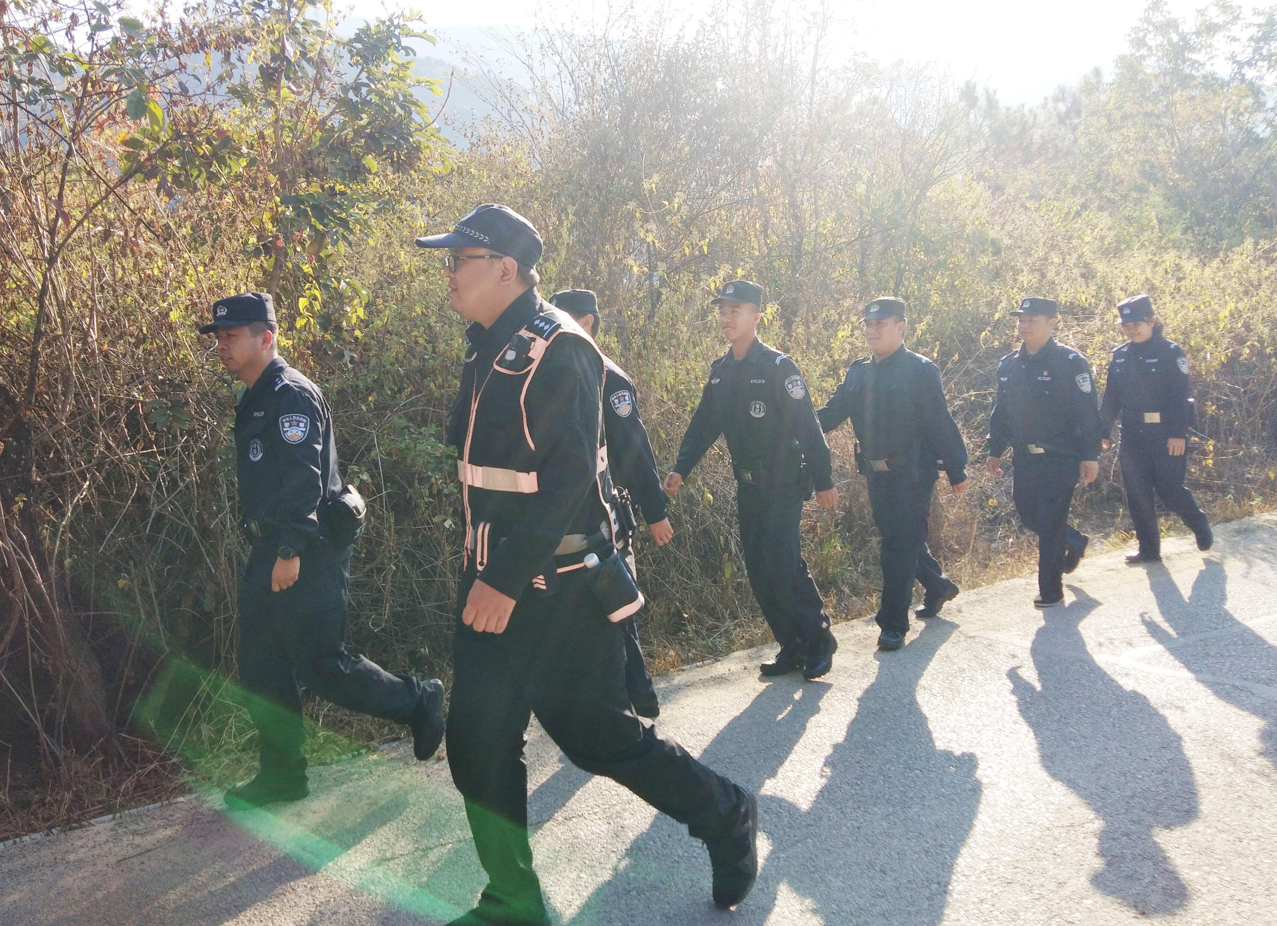 春节我在岗 | 泸水森林警察全力确保春节期间林区社会治安和谐稳定